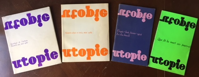 Utopie first 3 issues